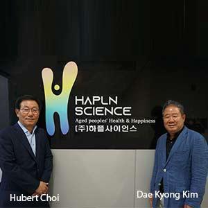 Hubert Hakbae Choi, CEO, HaplnScience